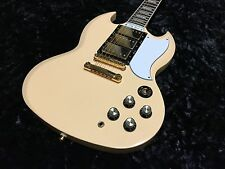 Epiphone Les Paul Custom SG - With Hard Case - Ivory G400 - See Pics!