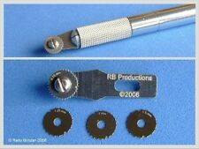 RB-10 x Rivet-R Mini Riveting Tool w/4 Scribing Wheels: 0.75, 1, 1.25, 1.5mm