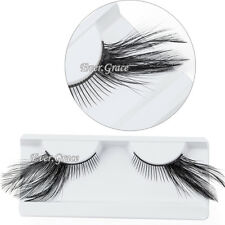 Black Makeup Feather Eyelashes Fancy Eye Lashes Party Cosplay Halloween Cosmetic
