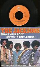THE JACKSONS 45 TOURS HOLLANDE SHAKE YOUR BODY+