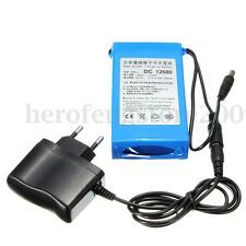 DC 12V 6800mAh Super Power Rechargeable Protable Li-ion Battery Pack  w/ Plug