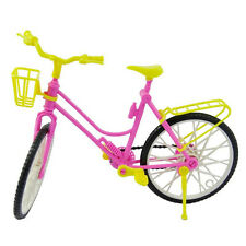 1 X Bike with Basket for Barbie Baby Girls Play House Dollhouse Furniture K407