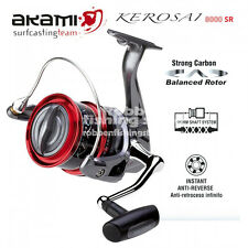 MULINELLO AKAMI KEROSAI 8000 SR 10 CUSCINETTI fishing reel ww ship