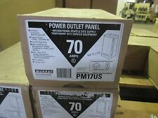 *NEW* MURRAY PM17US RV POWER OUTLET PANEL 70 AMP w/ 50A & 20A *60 DAY WARRANTY*