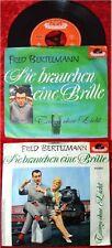Single Fred Bertelmann: Sie brauchen eine Brille
