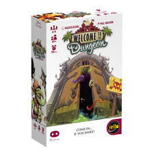Welcome To The Dungeon Card Mini Game Games Iello Games IEL 51256 Micro Family