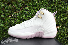 AIR JORDAN 12 RETRO XII GS GG SZ 8.5 Y HEIRESS PLUM FOG LIGHT BONE 845028 025