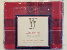 "WAMSUTTA ""Santa Fe"" SOFT BLEND 2 Std Pillow Shams NEW"