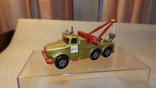 Vintage Matchbox Super Kings Scammel Wreck Truck ESSO K-2 Very Nice