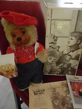 "1989 Raikes Bear Jesse 18"" Saturday Matinee Collection QQ 3060 Orig Box"