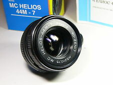 Helios-44m-7 2/58mm M42 Mount, year of production: 1990 - 1992