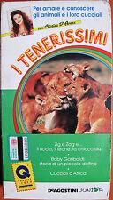 I TENERISSIMI VHS N°1  DEAGOSTINI JUNIOR