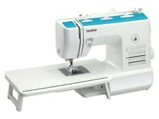 BROTHER XT37 SEWING MACHINE...COMES WITH EXTENSION TABLE AND DVD & HARD COVER