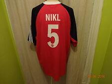 "1.FC Nürnberg Adidas Heim Trikot 2001/02 ""Adecco"" + Nr.5 Nikl Gr.XL- XXL TOP"