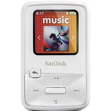 SanDisk Sansa Clip Zip White (8 GB) Digital Media Player