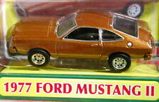 MOTOR MAX 77 1977 FORD MUSTANG II FRESH CHERRIES COLLECTIBLE CAR BROWN HTF