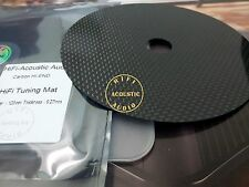 1 CD Tuning Mat Stabilizer Carbon Fiber Up Grade HIFI clamp Top Tray Player