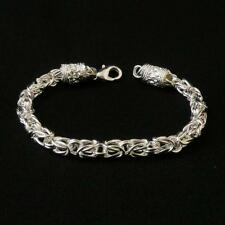 Stamped Silver 925 Bali Cable Chain Bracelet Gift Mum Daughter Sister Teacher