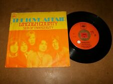 THE LOVE AFFAIR - LINCOLN COUNTY - SEA OF TRANQUILITY  - 45 PS  / LISTEN - PSYCH