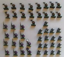 48 Dwarves with Spears, Axes & Crossbows - eM4 Miniatures - Plastic - Warhammer