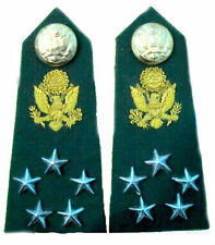 US ARMY NEW SHOULDER BOARD GENERAL OF ARMY 5 Stars Rank ERA 1959 TO 2014 CP MADE