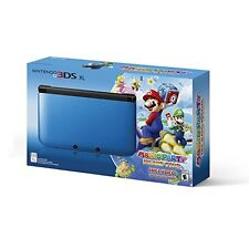 Nintendo 3DS XL Blue/black Limited Edition With Mario Party: Island Tour 4Z