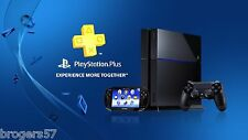 Sony PlayStation Plus 14-Day 2 weeks Membership Account US Seller! PS4,PS3 &Vita