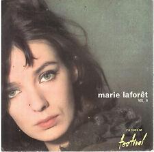 45T EP: Marie Laforêt vol.6: viens sur la montagne + 3 titres. festival