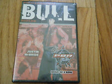 PBR PROFESSIONAL BULL RIDERS JUSTIN McBRIDE Reign of a King  DVD NEW SEALED PBR