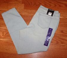 NWT Womens NINE WEST JEANS Gramercy New Moon Skinny Ankle Jeans Sz 16