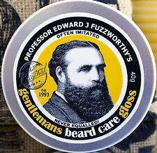 Professor Fuzzworthys Moustache Beard Care Gloss Styling Grooming Wax Mustache