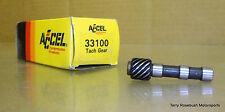 Accel 33100 Tach Drive Gear for 29, 30, 37, 39, 49 Series Dist. & corvette t-dr