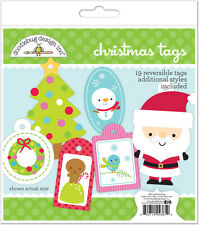 Doodlebug Design Santa Express Collection Christmas Tags Craft Kit 4361