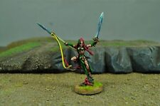 Warhammer Painted Wood Elf Wardancer Lord