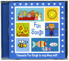 Fun Songs CD  Favourite children's songs to sing along with.  NEW & WRAPPED