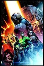 JUSTICE LEAGUE 7 - GEOFF JOHNS (HARDCOVER) NEW