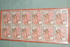 12 PINK GIRL Baby Shower Party Favors / Baptism Christening BONUS MAGNETS
