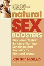 Natural Sex Boosters : Supplements That Enhance Stamina, Sensation, and...