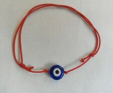 A Lucky Red Cord Blue Evil Eye Kabbalah Lucky Charm Bracelet Friendship Jewish
