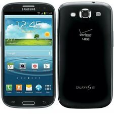 SAMSUNG GALAXY S III 16GB BLACK SCH-I535 4G LTE SMARTPHONE VERIZON UNLOCKED
