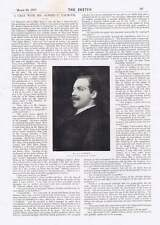 1895 Alfred C Calmour Interview Baroness Burdett-coutts