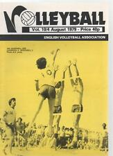 VOLLEYBALL MAGAZINE - August 1979