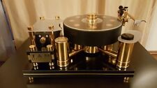 Absolute Monster All Brass 130lbs SAM Turntable 24 carat GOLDEN Gilt 33.3/45 rpm
