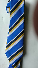 blue multi Stripe st james school tie use for xmas parties stag/ hen night