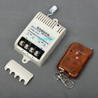 DC 12v 30A Relay 1CH Wireless RF Remote Control Switch Transmitter+ Receiver