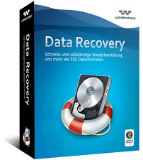 Wondershare Data Recovery 5.0 Datenrettung lifetime Vollversion  ESD Download