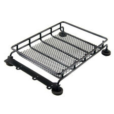 RC 4WD 1/10 Climbing For Wrangler JEEP Rock Cralwer Roof luggage Rack Black