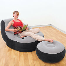 INTEX 68564 INFLATABLE MATTRESSES AIRBEDS / ARMCHAIR INFLATABLE ULTRA LOUNGE !!!