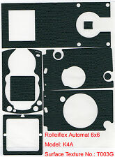 Rolleiflex Automat K4A Leatherette Cover full set Green T003G