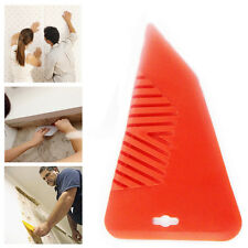 Red Wall Paper Smoother Wall Decor Plastic Handheld Decorating Flat Blade Tool